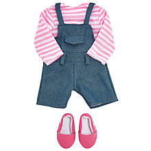 Buy John Lewis Collector's Dungarees Set Doll Outfit Online at johnlewis.com