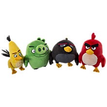"Buy Angry Birds 8"" Plush Toy, Assorted Online at johnlewis.com"