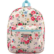 Buy Cath Kidston Children's Forest Bunch Rucksack, Ivory/Multi Online at johnlewis.com
