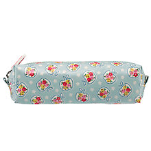 Buy Cath Kidston Children's Ditsy Apple Pencil Case, Pale Blue Online at johnlewis.com