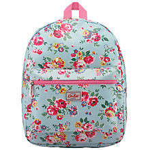 Buy Cath Kidston Children's Wells Rose Rucksack, Aqua/Multi Online at johnlewis.com