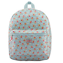 Buy Cath Kidston Children's Ditsy Apple Padded Rucksack, Pale Blue Online at johnlewis.com
