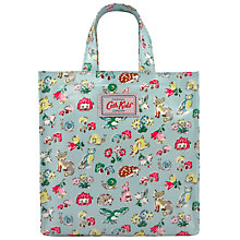Buy Cath Kidston Children's Forest Animals Mini Bag, Aqua/Multi Online at johnlewis.com