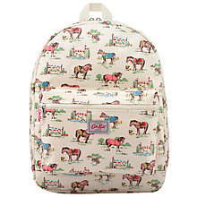Buy Cath Kidston Children's Pony Print Rucksack, Cream/Multi Online at johnlewis.com
