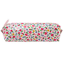 Buy Cath Kidston Little Flower Buds Pencil Case, Ivory/Multi Online at johnlewis.com