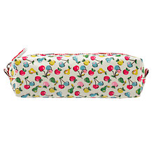 Buy Cath Kidston Children's Little Fruits Pencil Case, Cream Multi Online at johnlewis.com