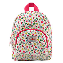Buy Cath Kidston Children's Mini Fruit Print Rucksack, White Online at johnlewis.com