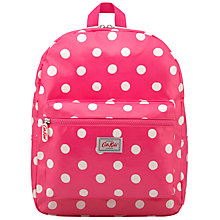 Buy Cath Kidston Children's Button Spot Rucksack, Pink/White Online at johnlewis.com