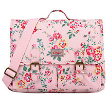 Buy Cath Kidston Children's Thorp Flowers Satchel Backpack, Pale Pink/Multi Online at johnlewis.com