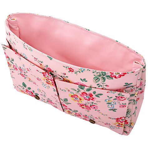 buy cath kidston children 39 s thorp flowers satchel backpack pale pink multi john lewis. Black Bedroom Furniture Sets. Home Design Ideas