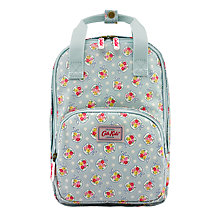 Buy Cath Kidston Children's Medium Ditsy Apple Backpack, Pale Blue Online at johnlewis.com