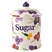 Buy Emma Bridgewater Wallflower Sugar Storage Jar Online at johnlewis.com