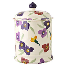 Buy Emma Bridgewater Wallflower 2-pint Storage Jar Online at johnlewis.com