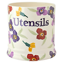 Buy Emma Bridgewater Wallflower Utensil Storage Jar Online at johnlewis.com