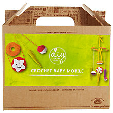 Buy DMC Creative Crochet Baby Mobile Craft Kit, Multi Online at johnlewis.com