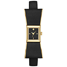Buy kate spade new york Women's Kenmare Bow Leather Strap Watch Online at johnlewis.com