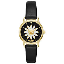 Buy kate spade new york Women's Metro Daisy Leather Strap Watch Online at johnlewis.com