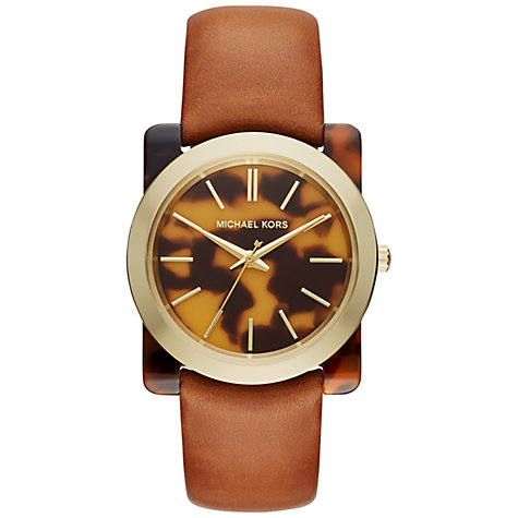 Michael kors womens watches leather band
