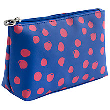 Buy John Lewis Molly Dot Basic Pouch, Multi Online at johnlewis.com