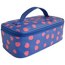 Buy John Lewis Molly Dot Utility Box Case, Multi Online at johnlewis.com