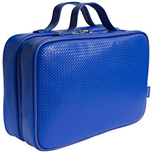 Buy John Lewis Hanging Wash Bag, Cobalt Online at johnlewis.com