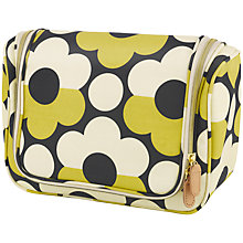 Buy Orla Kiely Sunset Flora Hanging Washbag Online at johnlewis.com