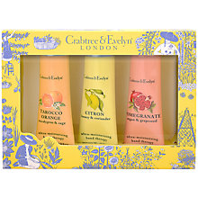 Buy Crabtree & Evelyn Fruits & Botanicals Hand Therapy Gift Set, 3 x 25g Online at johnlewis.com