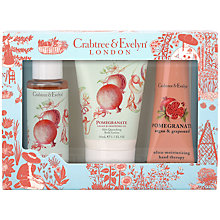 Buy Crabtree & Evelyn Pomegranate Little Luxuries Set Online at johnlewis.com