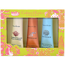 Buy Crabtree & Evelyn Best Sellers Hand Therapy Collection, 3 x 25g Online at johnlewis.com