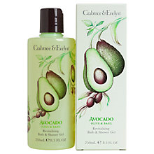 Buy Crabtree & Evelyn Avocado Olive & Basil Bath & Shower Gel, 250ml Online at johnlewis.com