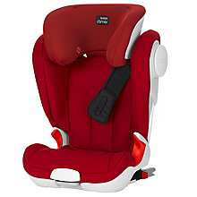 Buy Britax Kidfix XP Sict Group 2/3 Car Seat, Flame Red Online at johnlewis.com