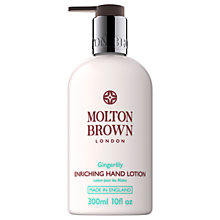 Buy Molton Brown Gingerlily Hand Lotion, 300ml Online at johnlewis.com
