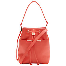Buy Ted Baker Adrene Mini Bucket Leather Across Body Bag Online at johnlewis.com