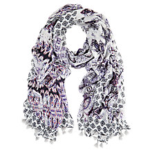 Buy Mint Velvet Tessa Print Scarf, Multi Online at johnlewis.com