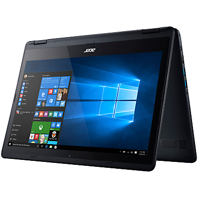 "Image of Acer Aspire R5-471T Convertible Tablet Laptop, Intel Core i5, 8GB RAM, 128GB SSD, 14"" Full HD Touch Screen, Black"