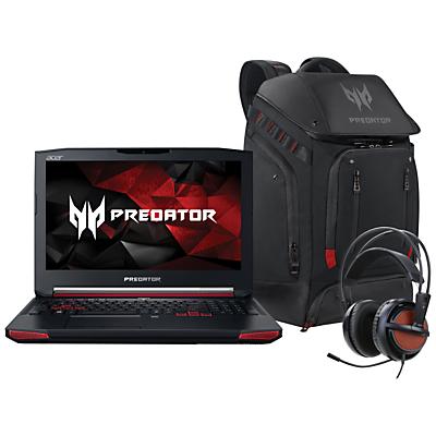Acer Predator G9591 Laptop with Predator Backpack and Predator Gaming Headset