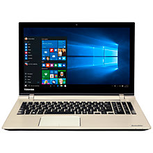 "Buy Toshiba Satellite P50-C-187 Laptop, Intel Core i7, 12GB RAM, 1TB HDD + 8GB SSD, 15.6"" Online at johnlewis.com"
