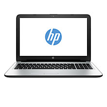 "Buy HP 15-ac114na Laptop, Intel Core i3, 8GB RAM, 1TB, 15.6"", White Online at johnlewis.com"