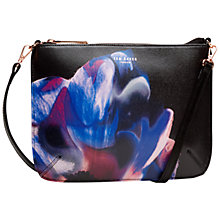 Buy Ted Baker Claria Cosmic Bloom Across Body Bag, Black Online at johnlewis.com