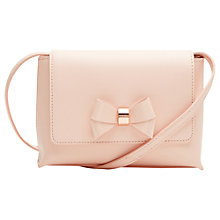 Buy Ted Baker Angiee Leather Across Body Bag Online at johnlewis.com