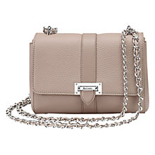 Buy Aspinal of London Lottie Chain Across Body Leather Bag Online at johnlewis.com
