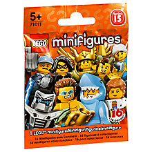 Buy LEGO Minifigures Series 15, Assorted Online at johnlewis.com