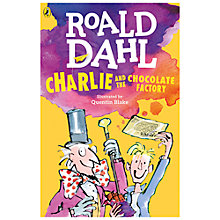 Buy Charlie & The Chocolate Factory Book Illustrated by Quentin Blake Online at johnlewis.com