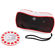 Buy Mattel Viewmaster First Look Virtual Reality Starter Pack Online at johnlewis.com