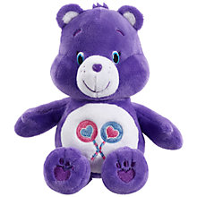 Buy Care Bears Bean Bag Share Bear Online at johnlewis.com