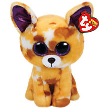 Buy Ty Beanie Boos Pablo Dog Soft Toy, 24cm Online at johnlewis.com