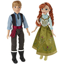 Buy Disney Frozen Anna and Kristoff Fashion Dolls Online at johnlewis.com
