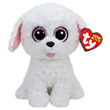 Buy Ty Beanie Boos Pippie Dog Soft Toy, 24cm Online at johnlewis.com