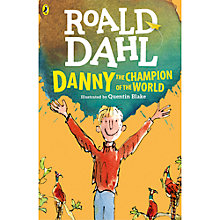 Buy Danny Champion Of The World Book Illustrated by Quentin Blake Online at johnlewis.com