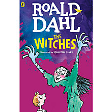 Buy The Witches Book Illustrated by Quentin Blake Online at johnlewis.com
